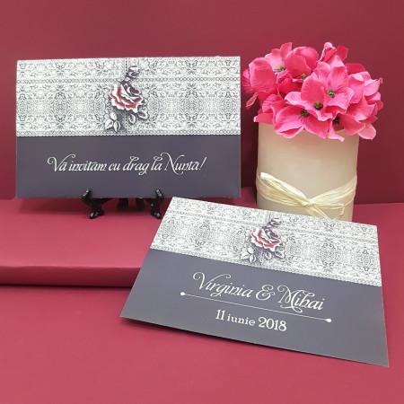 Invitatie Nunta PRO Rose