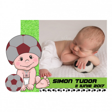Magnet Contur Fotbal 14