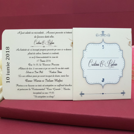 Invitatie Nunta DIVA Bujori