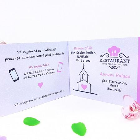 Invitatie Nunta Poveste de Nunta 2