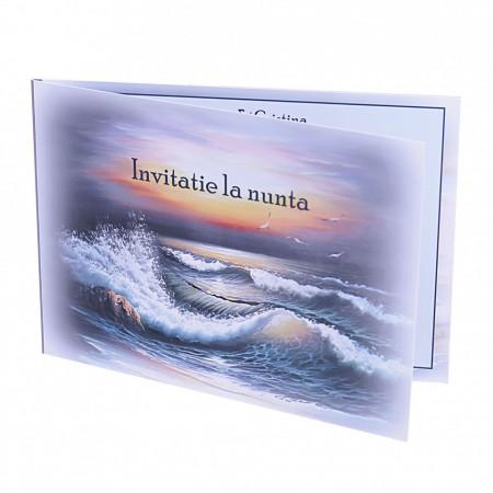 Invitatie Nunta Romantic