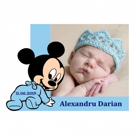 Magnet Contur Mickey Mouse 12