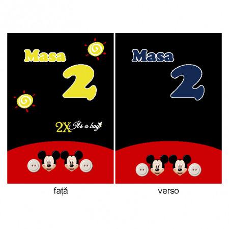 Nr de Masa Botez Gemeni Mickey Mouse 3