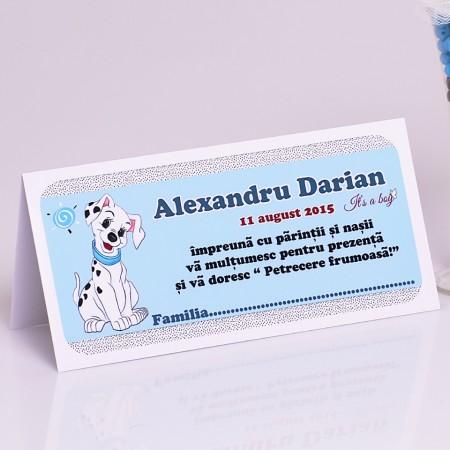 Plic Botez Dalmatian 2