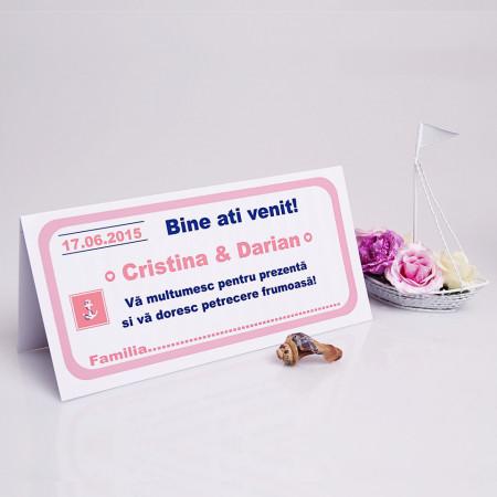 Plic Nunta Mare Albastra