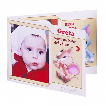 Invitatie Botez Dubla Baby Jerry