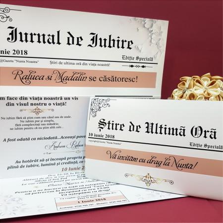 Invitatie Nunta BBS8 Jurnal de Iubire