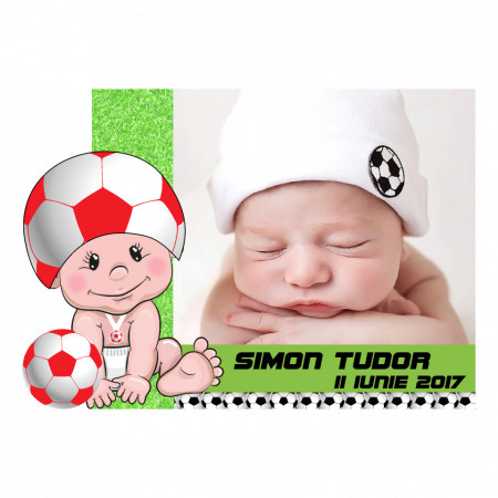 Magnet Contur Fotbal 12