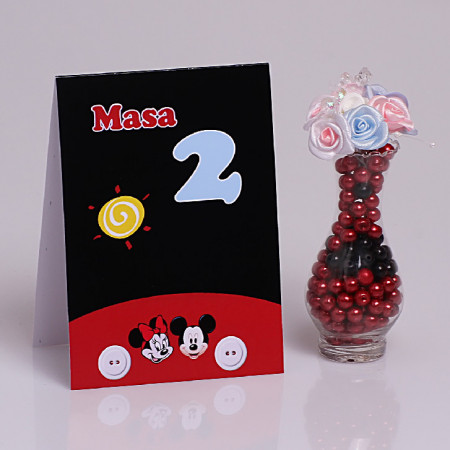 Nr de Masa Botez Gemeni Mickey/Minnie 2