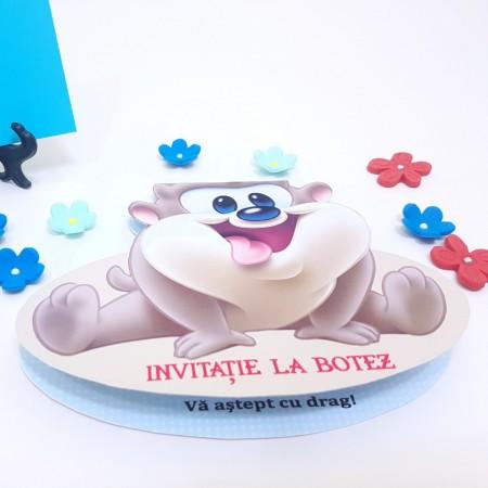 Invitatie Botez Contur Tazz