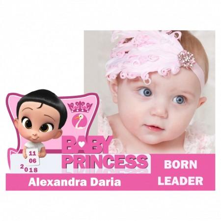 Magnet Contur Baby Princess