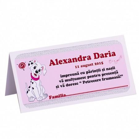 Plic Botez Dalmatian