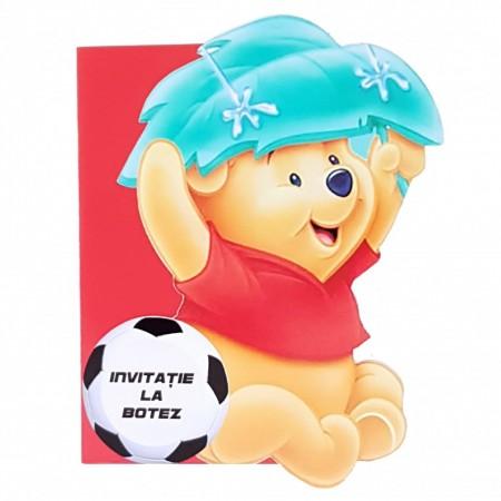 Invitatie Botez Contur Winnie 4