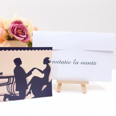Invitatie Nunta PRO Romantic