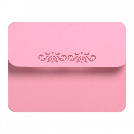 Marturie Nunta Magnet Rotund Pink