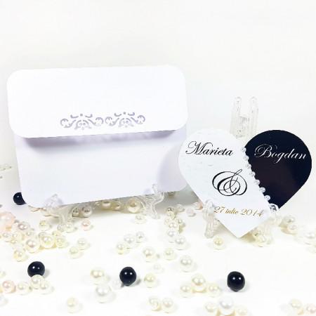 Marturie Nunta Magnet Special Inimioara