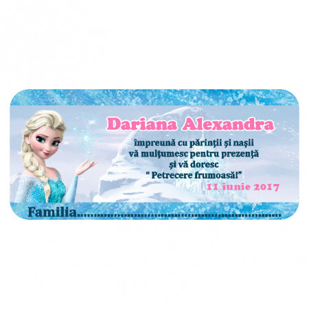 Plic Botez Elsa