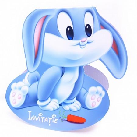 Invitatie Botez Contur Bugs Bunny