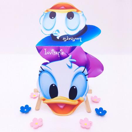 Invitatie Gemeni Contur Donald/Daisy