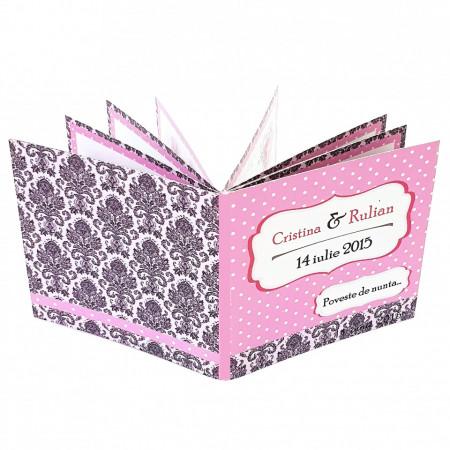 Marturie Nunta Carticica Pink