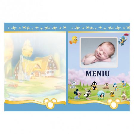 Meniu Botez cu Foto Disney 1