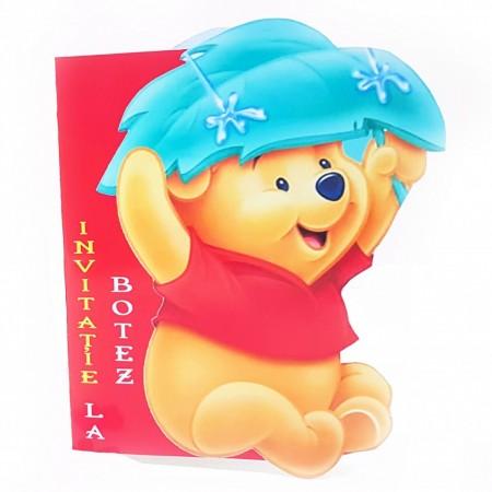 Invitatie Botez Contur Winnie 2