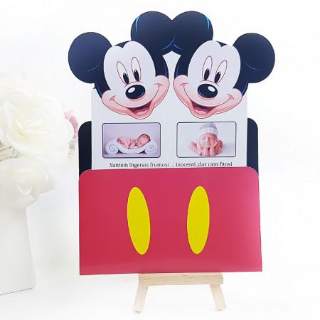 Invitatie Gemeni PRO 2 Mickey Var 1