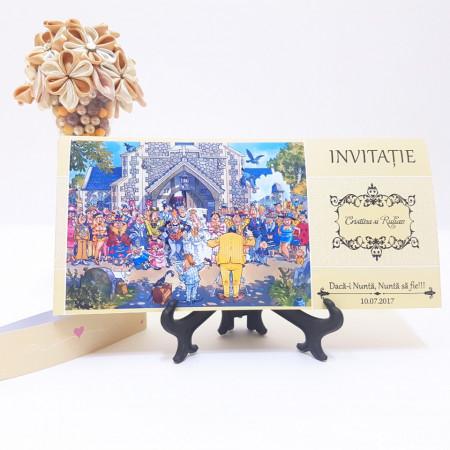 Invitatie Nunta BBS2 Daca-i Nunta! 2
