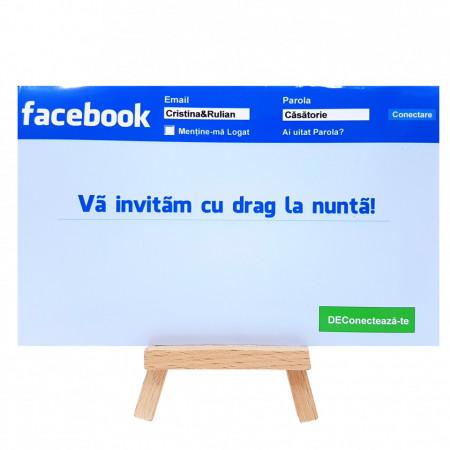 Invitatie Nunta PRO Facebook
