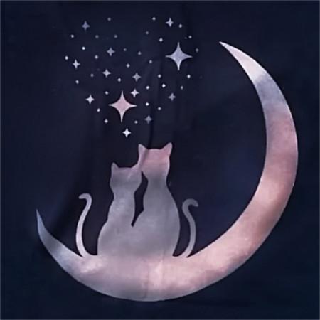 Tricou Pisici la Luna