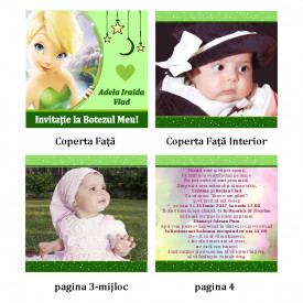 Invitatie Botez Carticica Tinkerbell 3