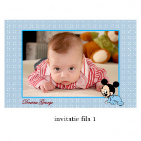 Invitatie Botez Cu Capsa Disney 35