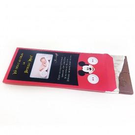 Invitatie Botez Cutie de Ciocolata Mickey Mouse