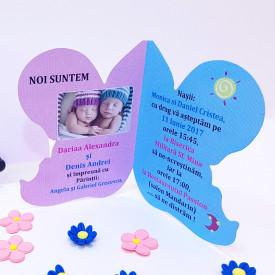Invitatie Gemeni Contur Ingeras 3
