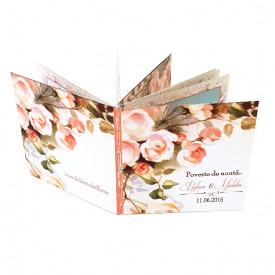 Invitatie Nunta Carticica Wedding Flowers