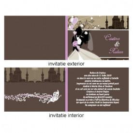 Invitatie Nunta Iubire var 4