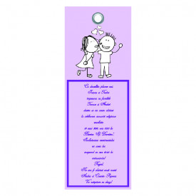 Invitatie Nunta Label INL46