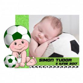 Magnet Contur Fotbal 11