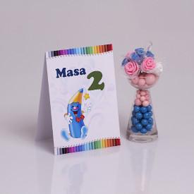Nr de Masa Botez Creioane Colorate