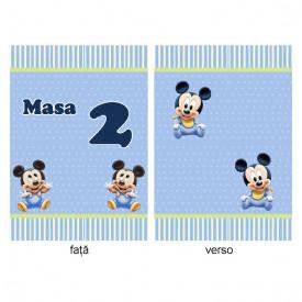 Nr de Masa Botez Gemeni Mickey Mouse 1