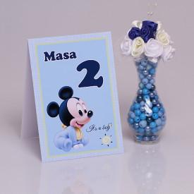 Nr de Masa Botez Mickey Mouse 2