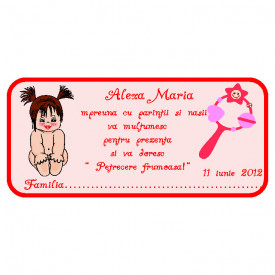Plic Botez Bebelusa 89