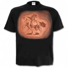 Tricou decolorat personalizat Caluti