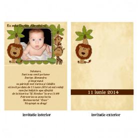 Invitatie Botez Papirus Disney Bebe 12