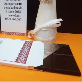 Invitatie Nunta Ciocolata Traditional Romanesc