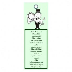 Invitatie Nunta Label INL43