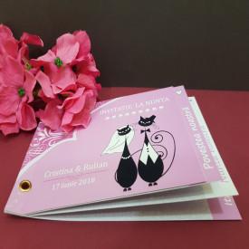 Invitatie Nunta Poveste Pisici