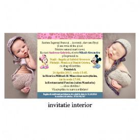 Invitatie Twins