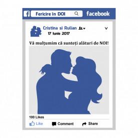 Marturie Nunta Magnet Facebook