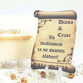 Marturie Nunta Magnet Special Papirus